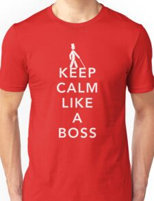 Keep Calm, Like a Boss Unisex T-Shirt