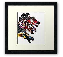 Carousel Equine Framed Print