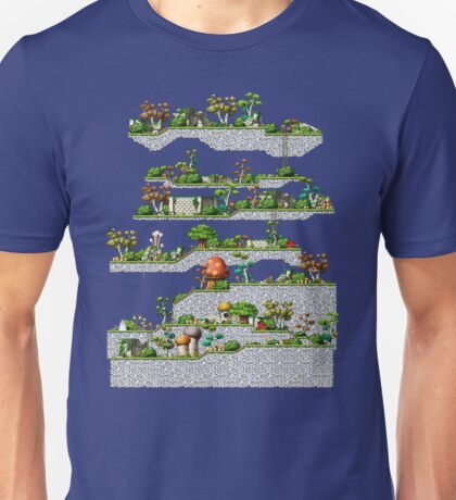 Maple Story Map T-Shirt