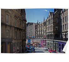The way to The Grassmarket Poster