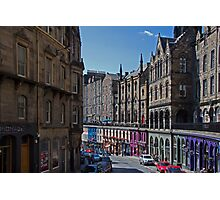 The way to The Grassmarket Photographic Print