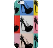 Louboutin Colorful Pop Art High Heels iPhone Case/Skin