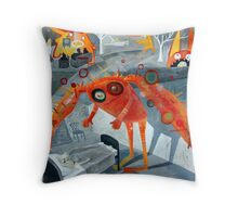 Crazy Dream Throw Pillow