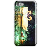 Swan Heart Abstract iphone case iPhone Case/Skin