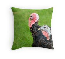 Turkeys... Throw Pillow