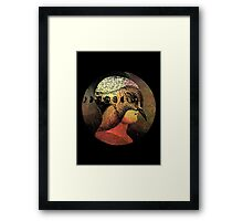 beak Framed Print