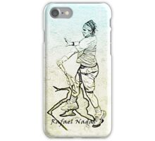 Rafa Nadal (stylized) iPhone Case/Skin