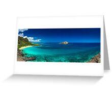 Makapuu Beach Greeting Card