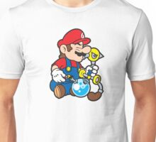 Super Stoned Mario Unisex T-Shirt