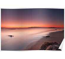 Dawn Therapy at Saunders Beach Poster