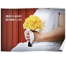 Wedding Day Poster