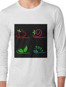 Floral artwork Long Sleeve T-Shirt