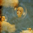 Living in a bubble by Nathalie Chaput