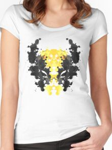 Wolverine Rorschach Women's Fitted Scoop T-Shirt