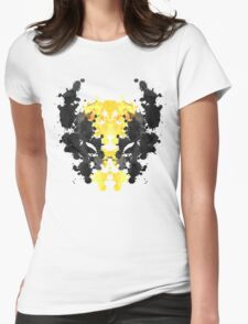 Wolverine Rorschach Womens Fitted T-Shirt