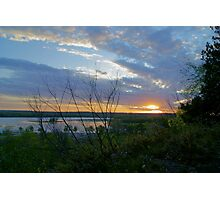 Rock Top Trail Sunset Photographic Print