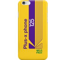 Plus-X Phone iPhone Case/Skin