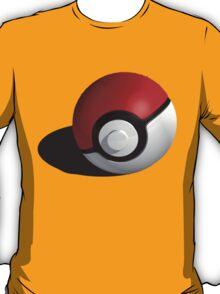 3D Style Pokemon Pokeball T-Shirt