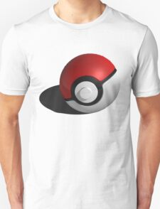 3D Style Pokemon Pokeball Unisex T-Shirt