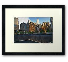 911 Memorial Park View Framed Print