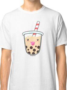 Kawaii Boba Milk Tea (Tapioca Bubble Tea) Classic T-Shirt
