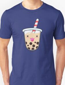 Kawaii Boba Milk Tea (Tapioca Bubble Tea) Unisex T-Shirt