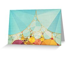 Travelling Show Greeting Card