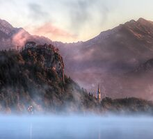 Bled Castle by Conor MacNeill