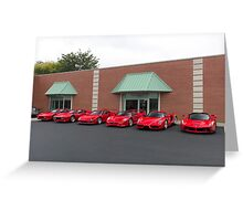 The Best of Ferrari Greeting Card