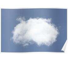 A Single Cloud - Kennedy, North Queensland, Australia Poster