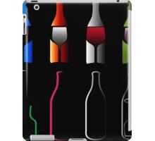 Bottles and glasses- spirits  iPad Case/Skin