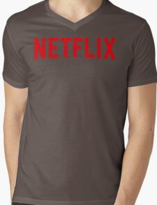 Netflix IV Mens V-Neck T-Shirt