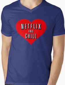 Netflix Mens V-Neck T-Shirt