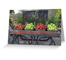 Get Well Apple Card Greeting Card