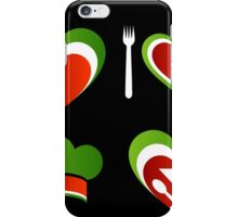 Italian cuisine iPhone Case/Skin