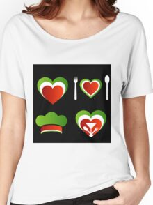Italian cuisine Women's Relaxed Fit T-Shirt