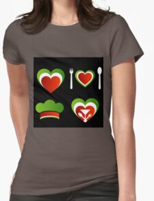 Italian cuisine Womens Fitted T-Shirt