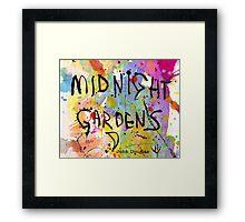 Midnight Gardens Framed Print