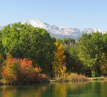 October Day On Sinton Pond (5) by dfrahm