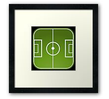 Football freak Framed Print
