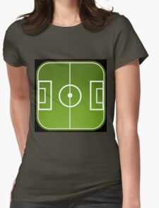 Football freak Womens Fitted T-Shirt