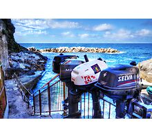 Ousted Outboards Photographic Print