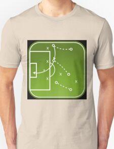 Football tactics board T-Shirt