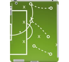Football tactics board iPad Case/Skin