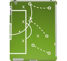 Football tactics board iPad Case/Skin