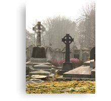 Irish Cemetery Canvas Print