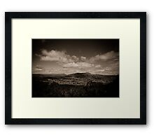 Mt Roland and Sheffield Framed Print