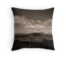 Mt Roland and Sheffield Throw Pillow