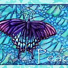 Peace Butterfly by JanDeA