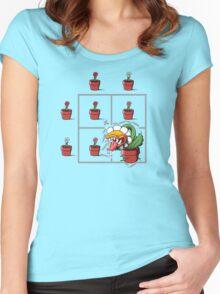 Punnett's Misstep Women's Fitted Scoop T-Shirt